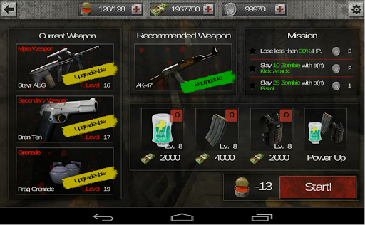 Hack game Zombie Gundead mod money
