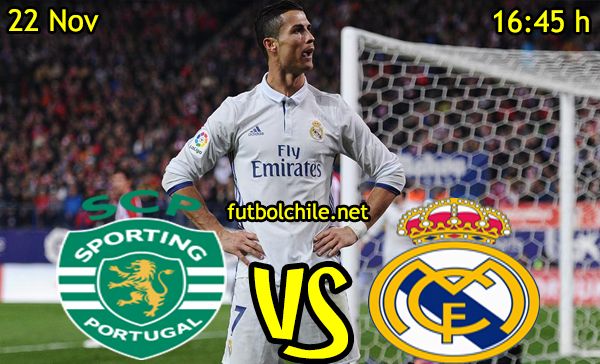 Ver stream hd youtube facebook movil android ios iphone table ipad windows mac linux resultado en vivo, online: Sporting Lisboa vs Real Madrid