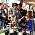 Jokowi Kembali Tunggangi Motor Custom Untuk Hadiri Deklarasi Jabar Kondusif di Bandung