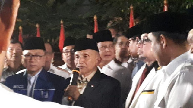 Amien Rais: Prabowo-Sandi Pasangan Harmonis dan Serasi