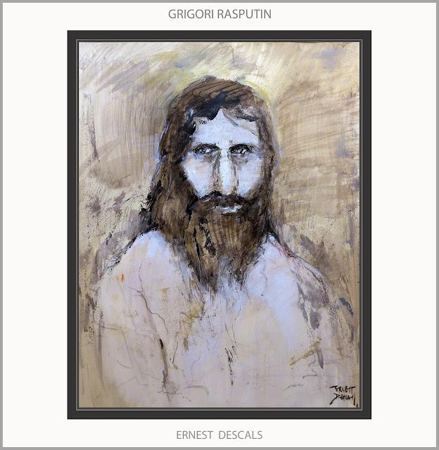 RASPUTIN-ART-ARTE-PINTURA-RETRATOS-PERSONAJES-RUSIA-HISTORIA-ZAR-MISTICOS-PINTURAS-ARTISTA-PINTOR-ERNEST DESCALS-