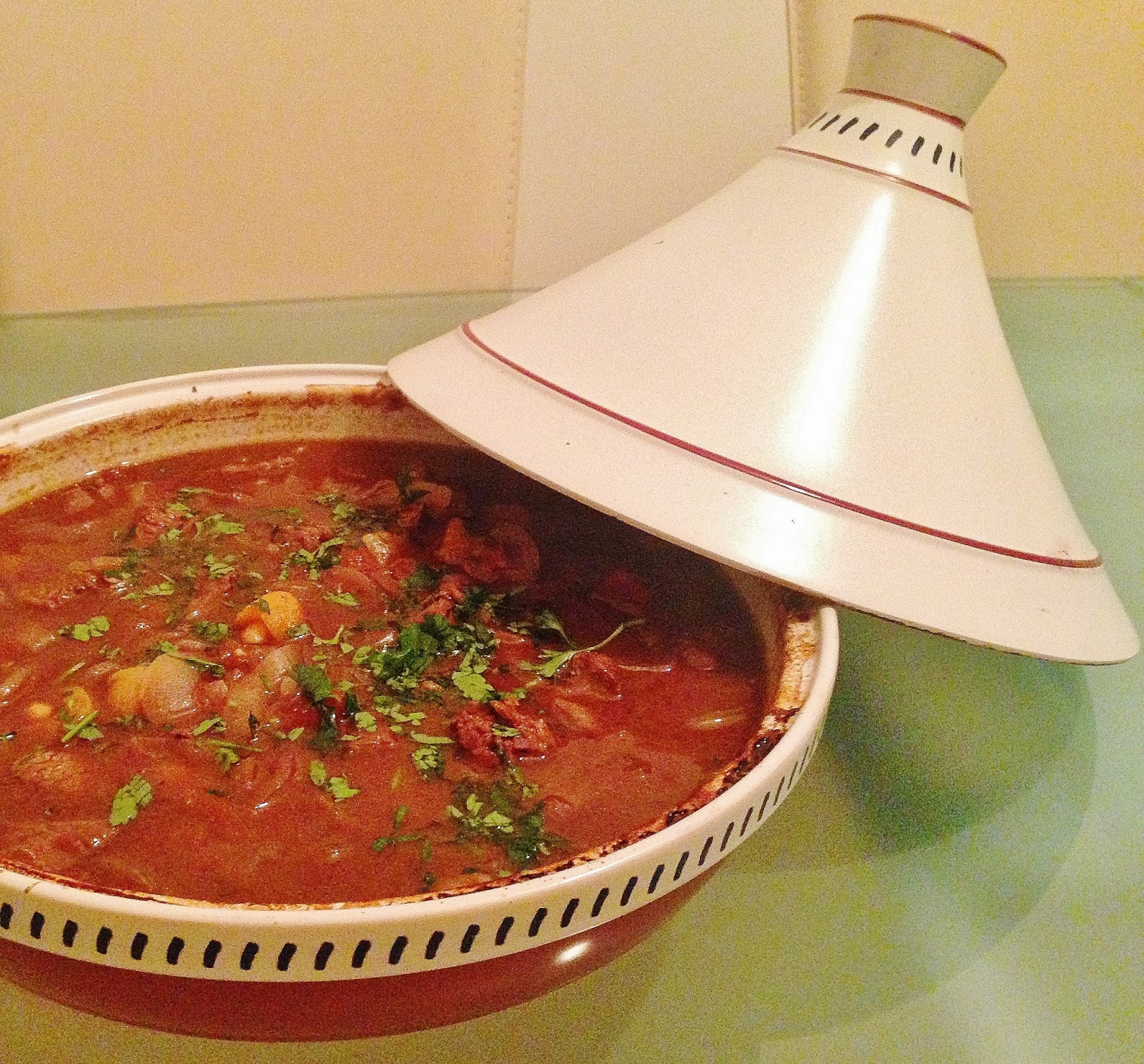 Beef & Apricot Tagine