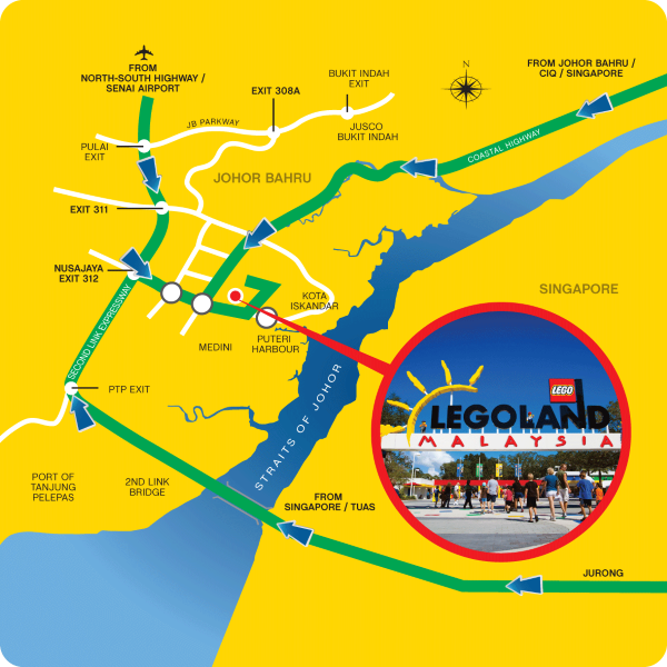 Where Is Legoland Malaysia