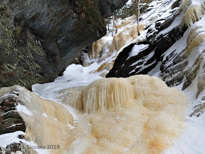 smugglers notch, vermont, ENT Gully, multi pitch ice climbing