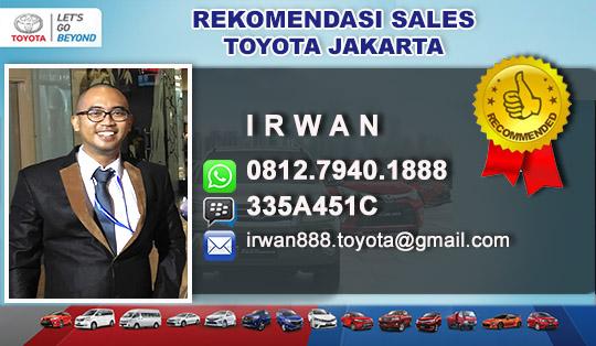 Rekomendasi Sales Toyota Garuda Jakarta Pusat