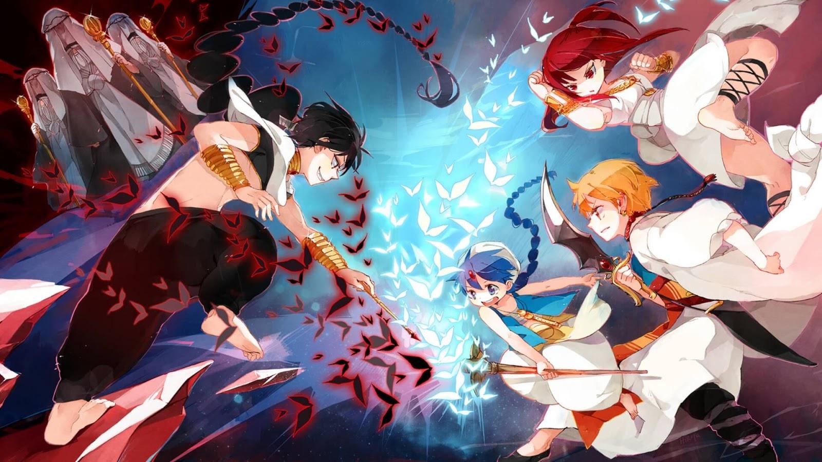 Magi: The Kingdom of Magic ( Season 2 ) [BD] Sub Indo : Episode 1-25 END | Anime Loker
