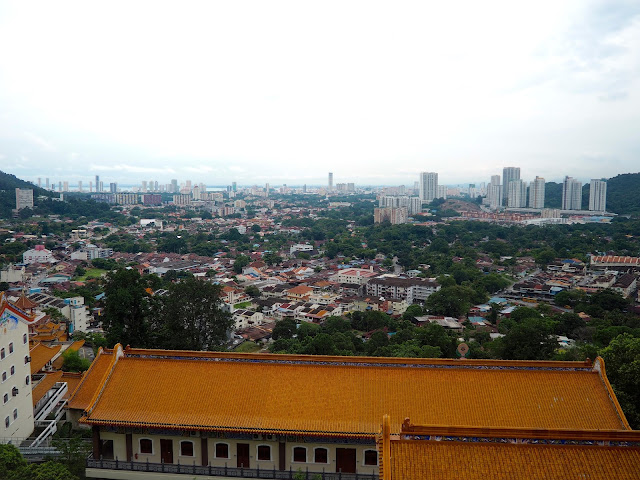 View from Kek Lok Si temple, Georgetown, Penang, Malaysia