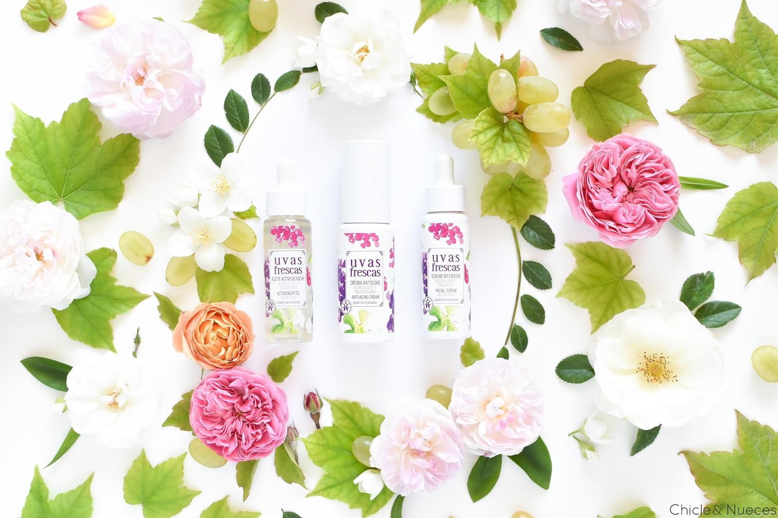 Uvas Frescas cosmética natural