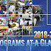 Programs at a Glance 2018-2019