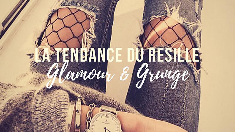 La tendance du résille - Glamour & Grunge