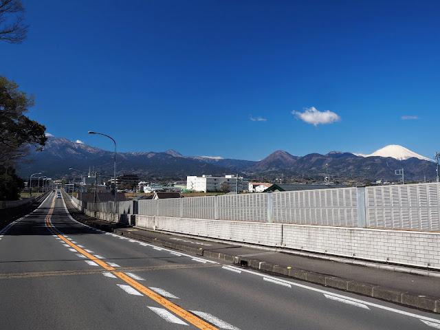松田~開成 富士山