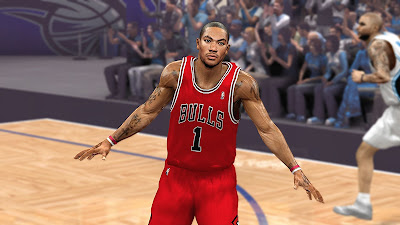 NBA 2K13 Derrick Rose Playoffs Returns Game 3