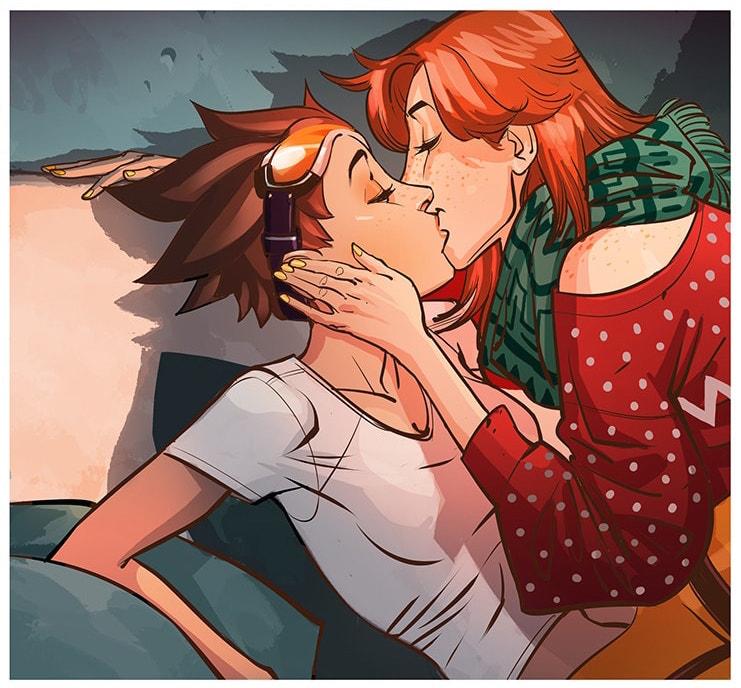 Blizzard apresenta primeiro romance LGBT em história digital de Overwatch