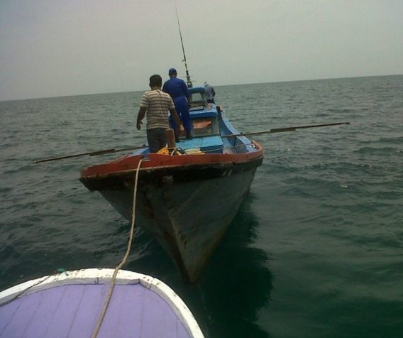6 Unit Kapal Nelayan Di Amankan Satpol Air Polres Aceh Barat