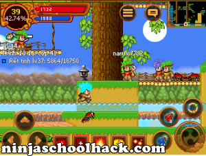 ninja school online 132 auto nhat do