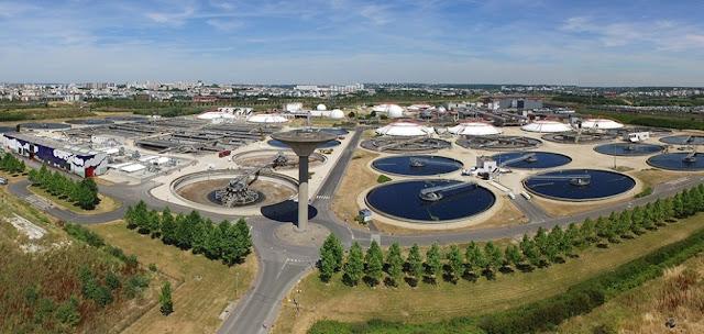 Instalasi Pengolahan Air Limbah di Paris yang biasa disebut SIAAP (veolia.com)