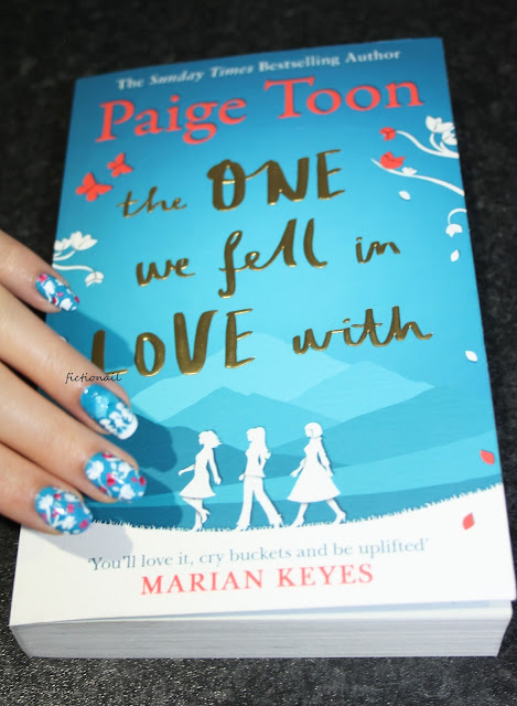 The One We Fell in Love With Book Cover Nail Art Paige Toon