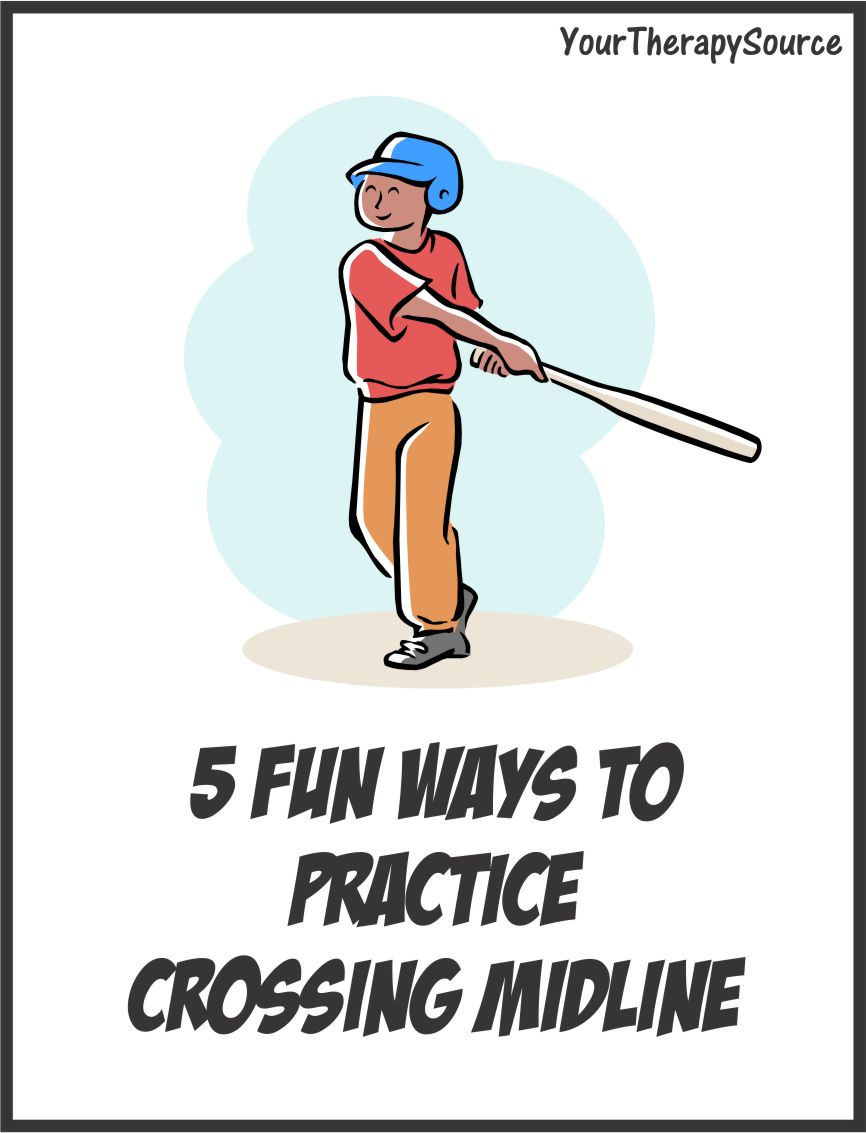 5 Fun Ways To Practice Crossing Midline Your Therapy Source