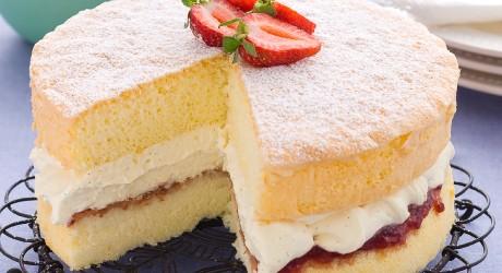 Small Cake Often Eaten With Jam And Cream