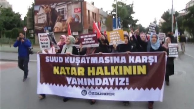 Protesters hold rally outside Saudi embassy in Ankara