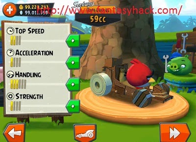 Download Free Angry Birds Go! Game Hack v1.4 Unlimited Coins,Gems 100% working and Tested for IOS and Android.