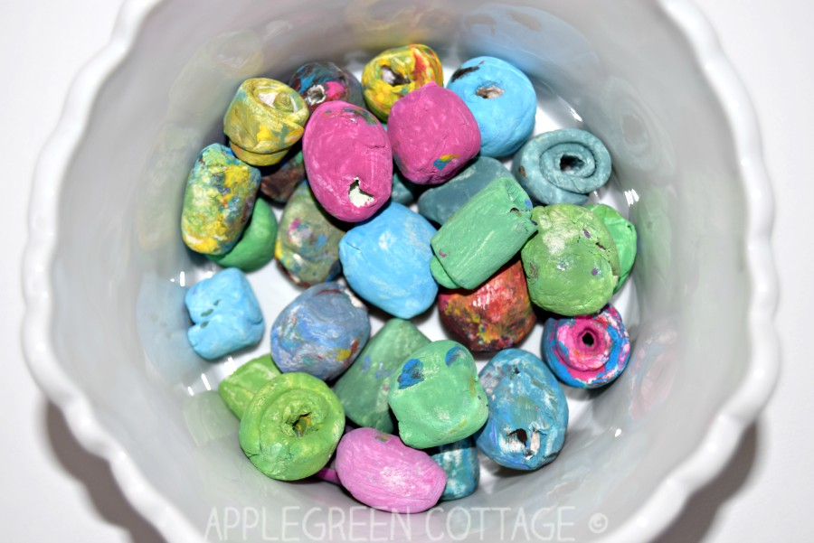 Air Dry Clay Bracelet - Mother\'s Day Diy - AppleGreen Cottage
