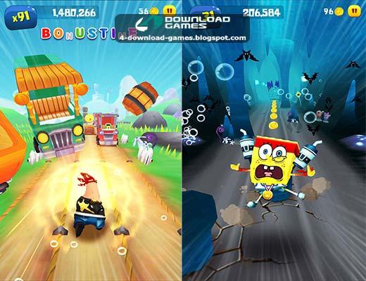 لعبة سبونج بوب SpongeBob Game Station للموبايل