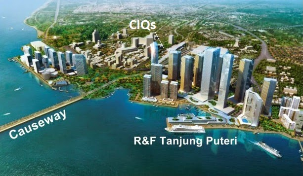 R&F Princess Cove, 富力地产, Iskandar Tanjung Puteri CIQs