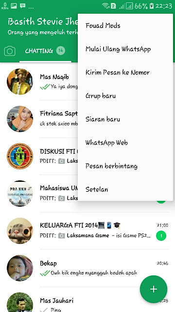 Download Aplikasi Whatsapp Plus Mod Clone Versi Terbaru Bisa Ganti Thema For Android