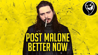 lirik Post Malone Better Now