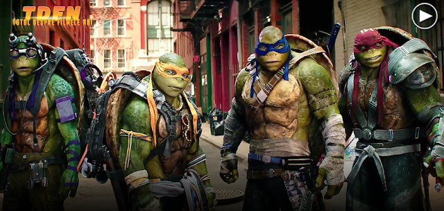 Donatello, Rafael, Leonardo şi Michelangelo în primul trailer pentru Teenage Mutant Ninja Turtles 2: Out Of The Shadows