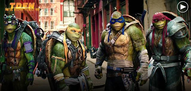 Donatello, Rafael, Leonardo şi Michelangelo în primul trailer pentru Teenage Mutant Ninja Turtles 2: Out Of The Shadows