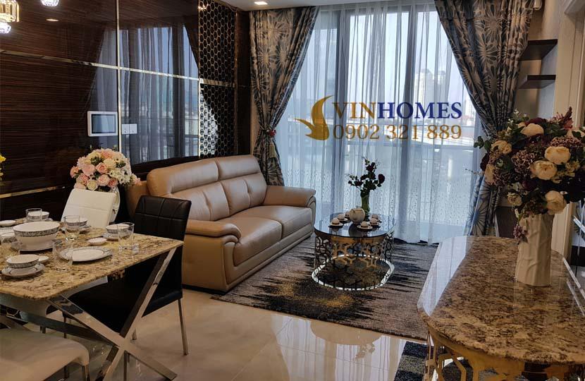 Căn hộ Vinhomes 3PN cho thuê Landmark 4 nội thất mới