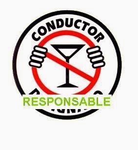 Señalización para beber alcohol con moderación