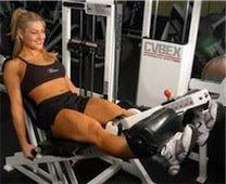 Ejercicio de extensión sentada para cuadríceps