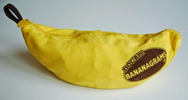 Bananagrams used for preschool fruit theme week