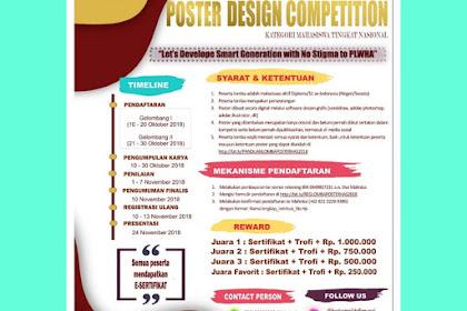 Contest Poster Design Competition 2018 UNEJ