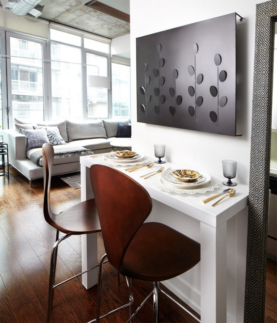 Tips & Ideas For Small Spaces (Image Heavy