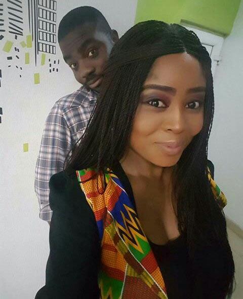 Benita Okojie flaunts her man, reveals when she's getting married