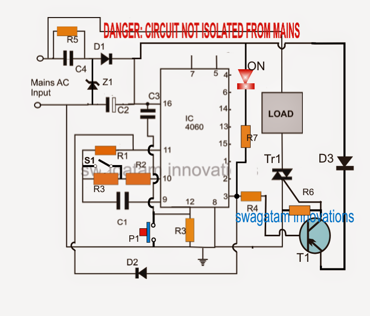 simple geyser water heater timer circuit electronic. Black Bedroom Furniture Sets. Home Design Ideas