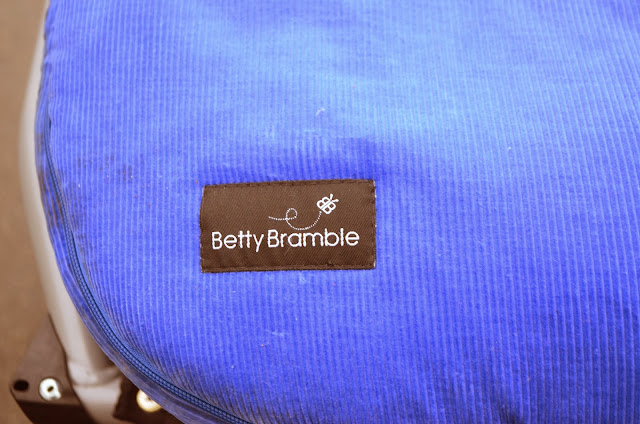 Betty Bramble footmuff review, luxury footmuff review