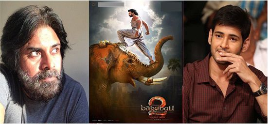 Maheshbabu and Pawan Kalyan tweets on Baahubali 2 for crossing 1000 crore