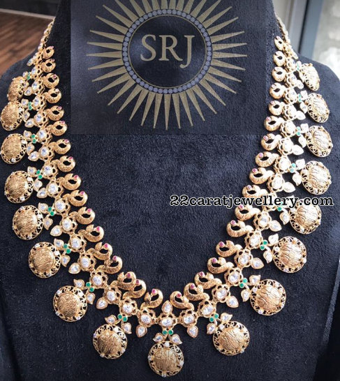 Ram Parivar Necklace 106 Grams