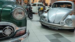 Campina recebe encontro de carros antigos