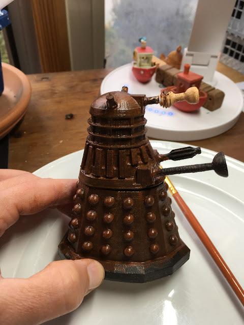 3D Printed Dalek via foobella.blogspot.com