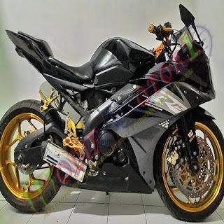 modifikasi r15 warna hitam modifikasi motor r15 hitam