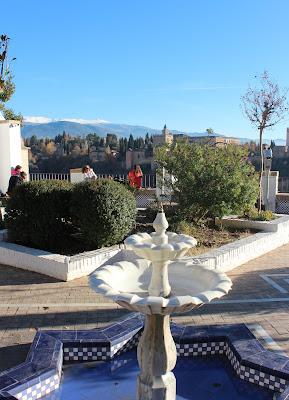 Patio mezquita Mayor de Granada