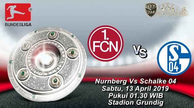 Prediksi Nurnberg Vs Schalke 04, Sabtu 13 April 2019 Pukul 01.30 WIB