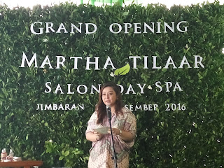 martha tilaar salon day spa jimbaran - bu Wulan Tilaar