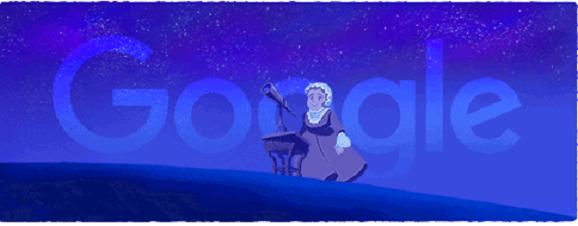 Caroline Lucretia Herschel Jadi Google Doodle Hari Ini, Siapakah Caroline Lucretia ?